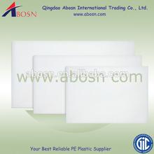 Free customers' logo chopping blocks plastic cutting board/plastic chopping board/pvc/hdpe/pp cutting sheet