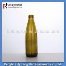 Reserva de largo plazo de alibaba de china economías bengbu ámbar botella de vidrio para cola de vidrio de venta al por mayor