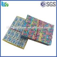 4pcs chiclet pk chewing gum