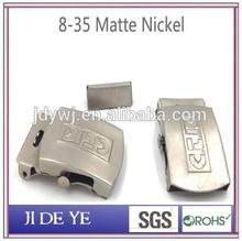 High quality matte nickel metal conchos