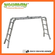 AS/NZS 1892.1:1996 motorcycle ladder with 14 steps for household ladder AM0114C