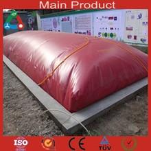 Pig et vaches agriculture projet PVC biogaz système Technik pour la cuisson des aliments et de l'électricité