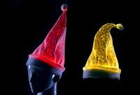 2015 fashion lighted dancing christmas hats