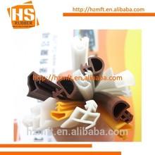 PVC wooden door rubber seal gasket made in Hebei,China