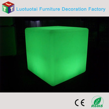 16 color changing led cube 40 cm/Led Waterproof Pool Cube