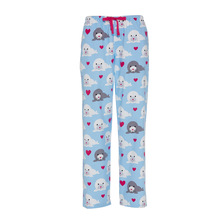 2015 Women 100% Cotton Flannel Lounge Pants Latest Printed Pajama Pants