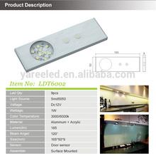 Factory Direct 12v super bright led cabinet light,Automatic led cabinet Light , IR sensor,