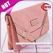 Fashion shoulderable double pocket twins bag ladies hand purse