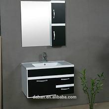 Jisheng pedestal/plastic/bamboo bathroom wall cabinet vanity_custom made home furniture