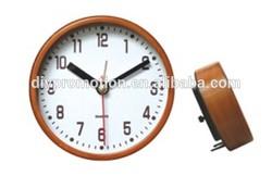 2015 wooden table clock decorative promotional desk clock