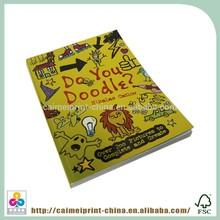 Wholesale china factory children perfect binding books