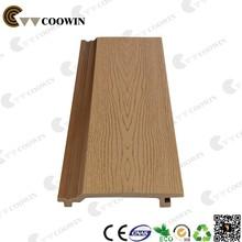 Wood plastic exterior wall decorative panel