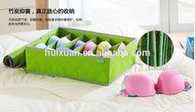 Foldable Box / Bamboo Charcoal Fibre Storage Bag for Bra,Underwear,Necktie,Socks