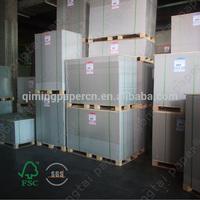 Korea Stiffness equal One Side Coated Duplex Board Stocklot