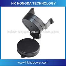 360 degree rotation universal mini car phone holder support mobile phones, PDA, GPS, MP4