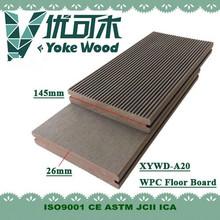 UV Resistant Low carbon Anti termites WPC decking