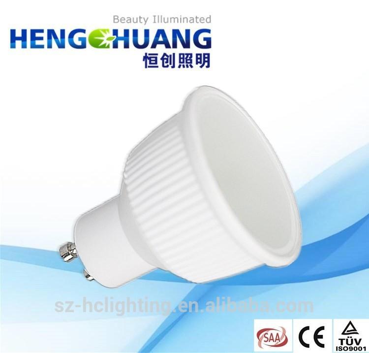 Shenzhen factory gu10 led bulb 500 lumen 5W accept paypal