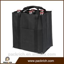 2015 new ecofriendly oxford cloth durable 6 bottle wine bag