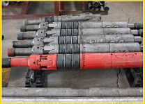 """api High Temperature Oil Well Drilling inflatable casing packer 7.5""""RTTS167 rubber packer"""