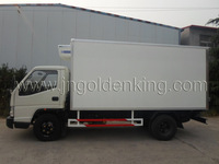 gel coated GRP sheet truck body/ truck box /truck van
