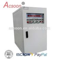 3-phase 75kva 110v 400hz power conversion
