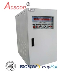 3-phase 75kva 110v 400hz power conversion