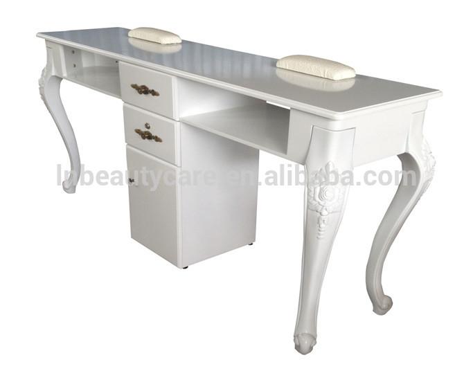 Lne 099 double table ongles manucure bureau pour 2 - Salon pour les ongles ...