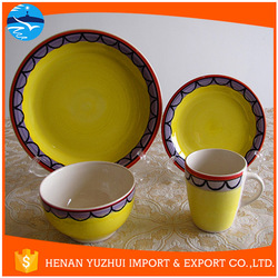 buy direct from china wholesale hand-painted modern dinnerware