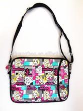 PU Material and Women Gender messenger bag