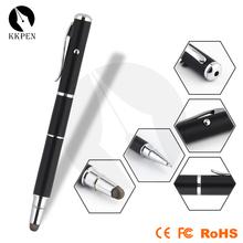Shibell stylus pen 4 in 1 laser pointer pen mini laser pointer pen