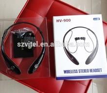 HV-900 wireless stereo headset hbs 900 Neck Halter style Bluetooth headset CSR4.0