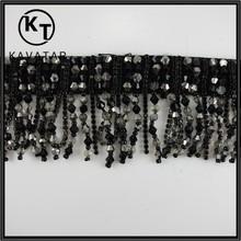 New design ! beads tassel fringe sequin for garment accessories