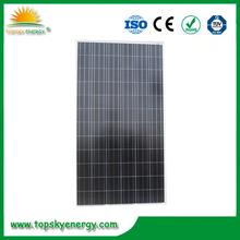 Poly 300W solar panels for 1000 watt solar panel system in Turkey with USD$0.45/W