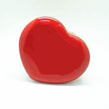 Red colorJoyous heart-shaped wedding favor gift box