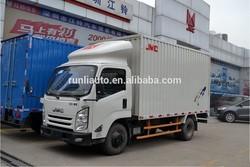 JMC van truck 5tons for sale 0086 15826750255