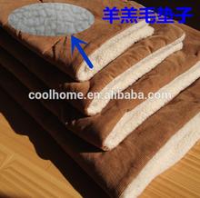4 sizes camo fleece dog mat