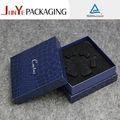 venta al por mayor baratos precio delicada rígido personalizada impresa de cartón reloj decorativo de embalaje caja de joyería de papel