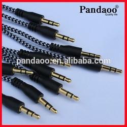 AUX Audio Cable 3.5 mm Jack for iPod/MP3/Car Audio