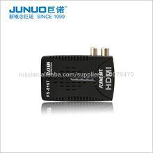 2015 Plastic Mini DVB-T HD Mstar 7818 Chipset Solution 1080P Full HD MPEG4 H.264 PVR Set Top Box