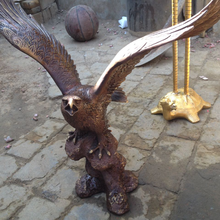 Western style bronze/brass casting animal eagle statue