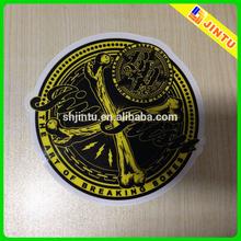 Custom die cut adhesive sticker, printed stickers, vinyl stickers