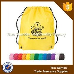 Promotional Drawstring Shoe Bag,Drawstring Backpack,Polyester Drawstring Bag
