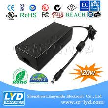 12v 10a 120w power adapter supply