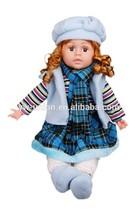 Eco friendly do bebê bonecas de porcelana, 24 polegada 18 polegada boneca de porcelana delicada popular