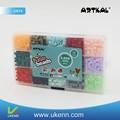 Inteligente diy hama fusível beads2020pcs/caixa contas perler 15 cores engomar fazer papel artesanal kit