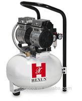 oil free piston air compressor 0.75HP 60L/MIN 25L for sale