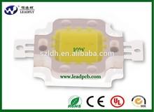 9w Bridgelux chips 4800-5200K 100lm/w cob chips led module for down light