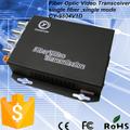 4 canales de fibra convertidor óptico de audio y vídeo