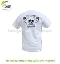 Cheap mens cotton plain white round-neck t shirts factory price custom t shirt printing fashion man t-shirt
