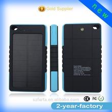 External solar power bank for macbook pro/ipad mini